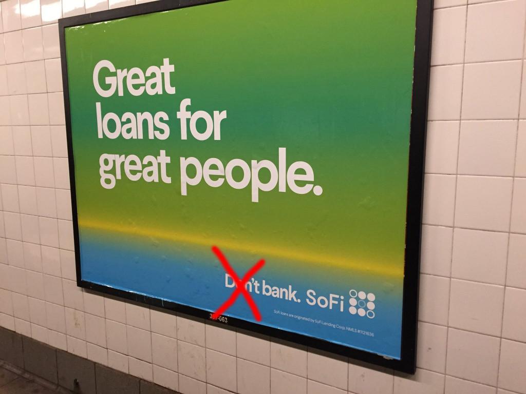 don't bank sofi