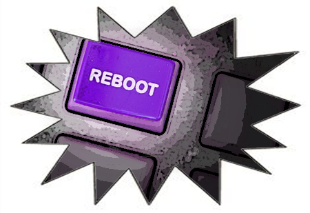 reboot button