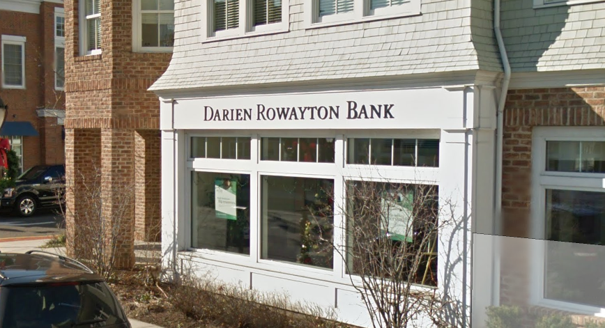 Darien Rowayton Bank - Via Google Streetview