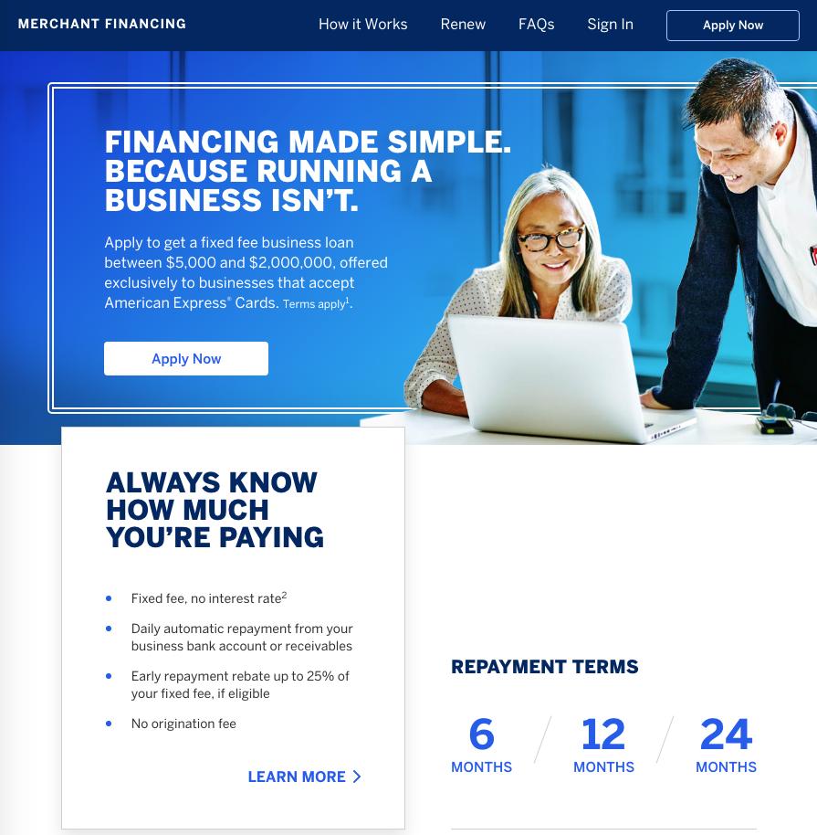 merchant financing
