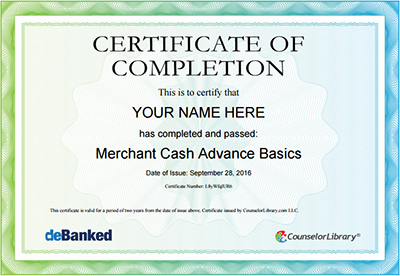 MCA Basics Certificates