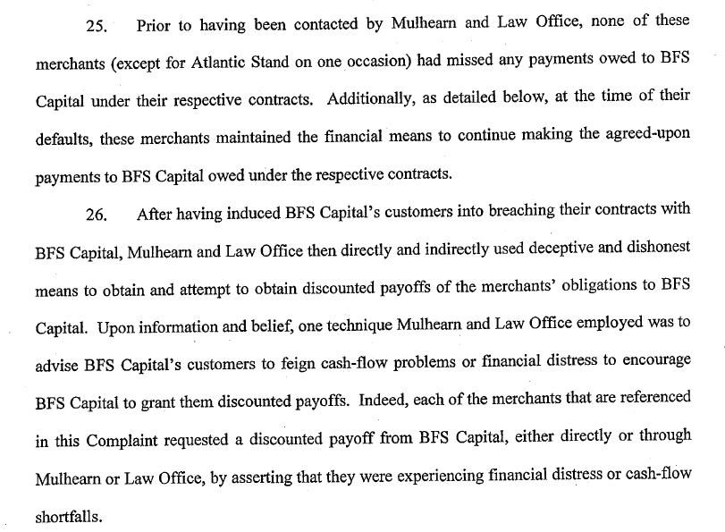 BFS Capital v. Christopher Mulhearn