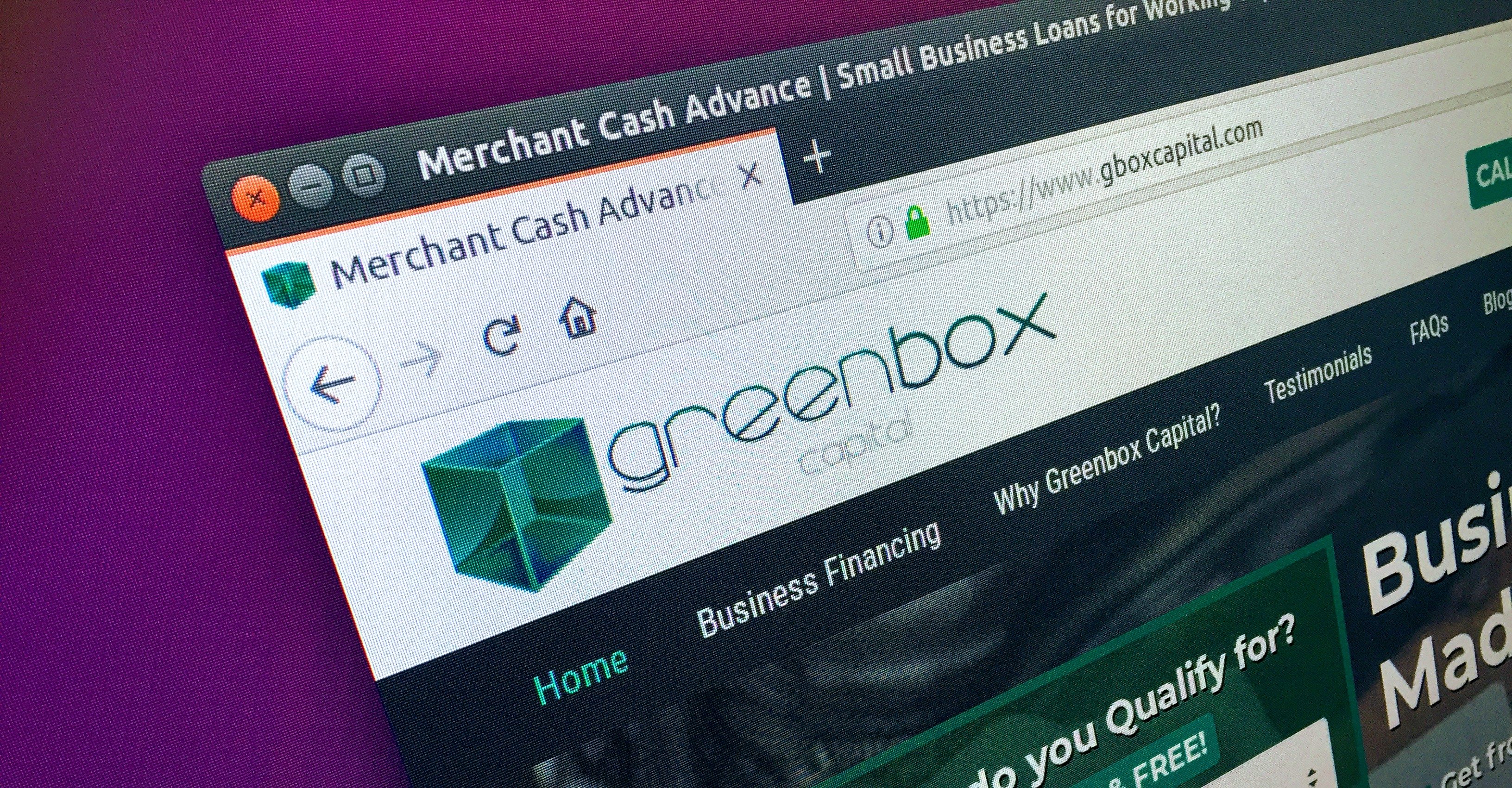 Greenbox Capital Website