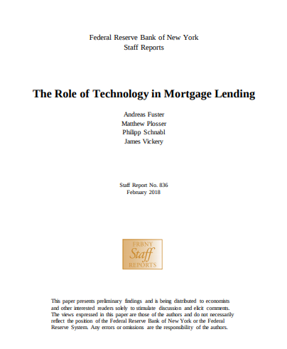 NY Fed Report