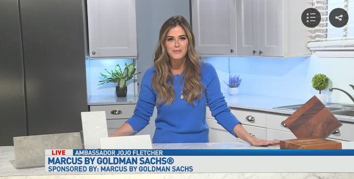 JoJo Fletcher, Marcus by Goldman Sachs