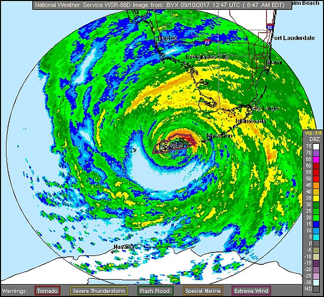Hurricane Irma Radar