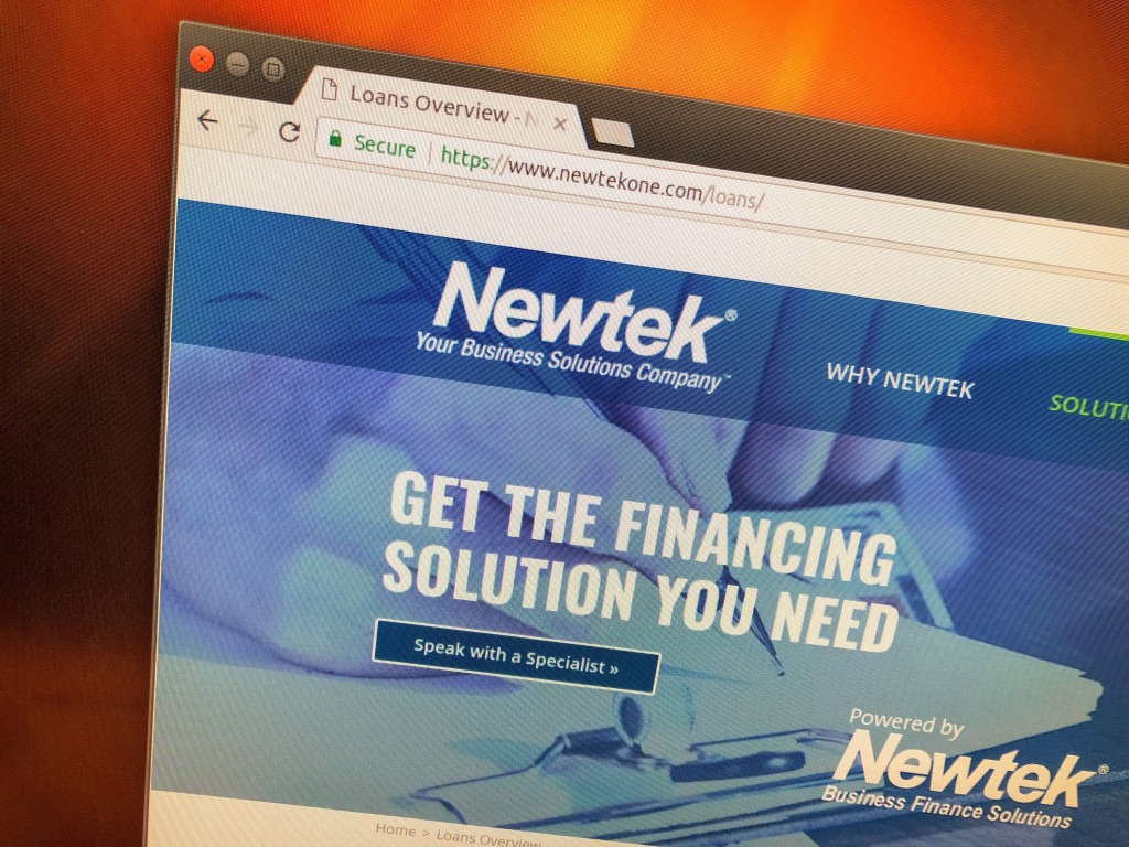 Newtek website