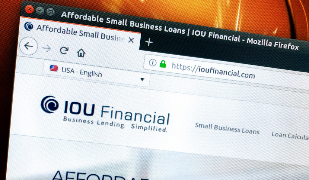 IOU Financial Website