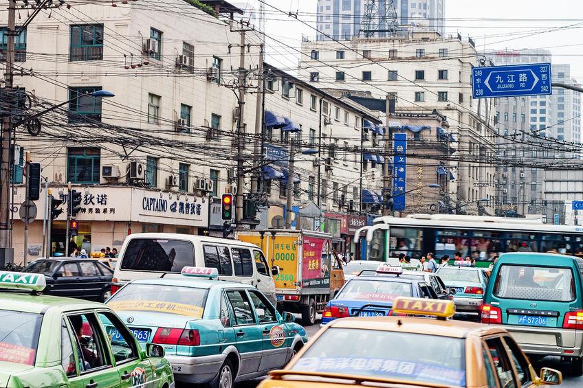 Taxis in Shanghai