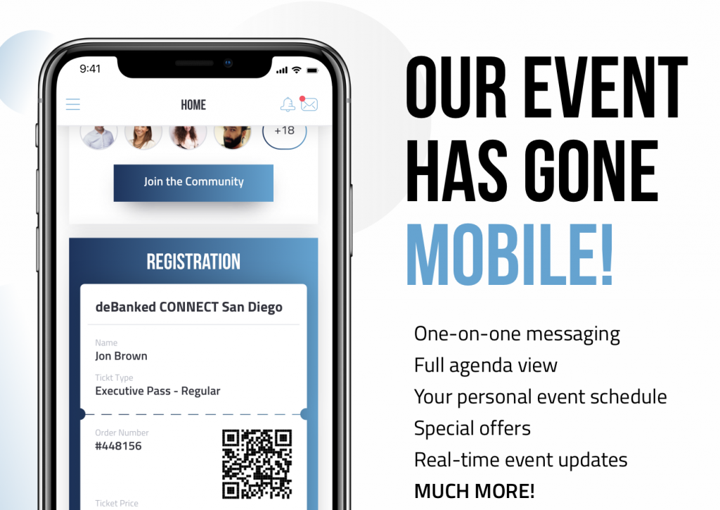 deBanked Events Mobile App