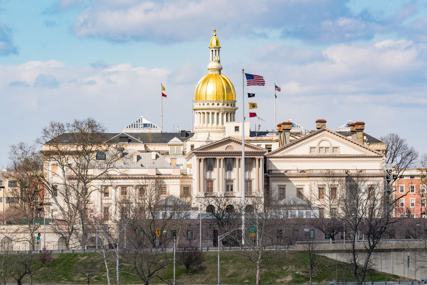 New Jersey Capitol Building in Trenton
