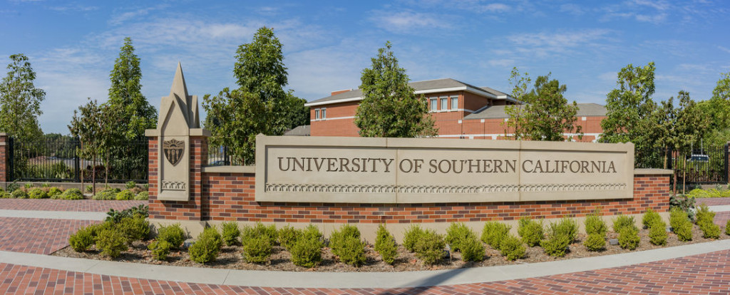 Sign of University of Southern California