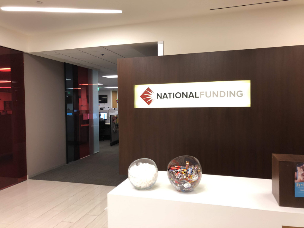 National Funding's office in San Diego, CA