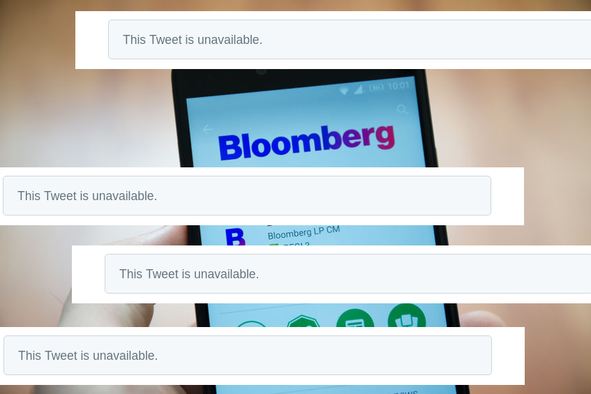 tweet unavailable