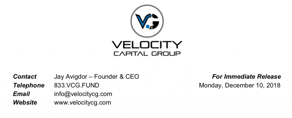 Velocity Capital Group