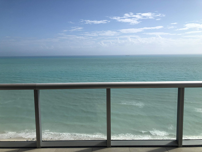 Miami Beach from the Eden Roc