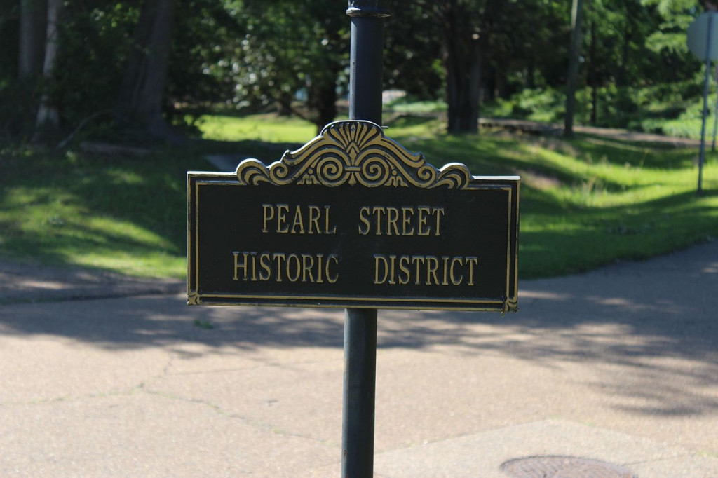 Pearl Street Historic District in Brandon, MS