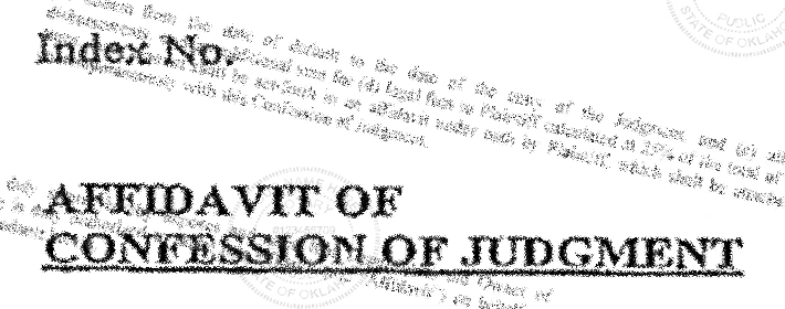 Get The Affidavit Or Waive It Examining Confessions Of Judgment