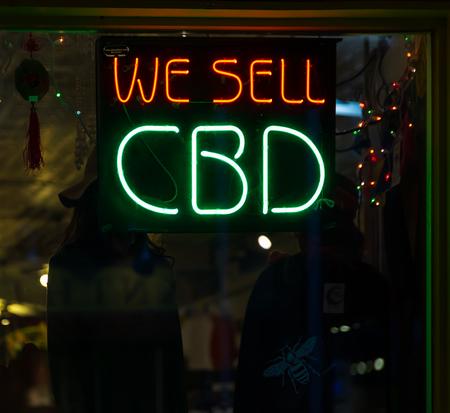 cbd sign