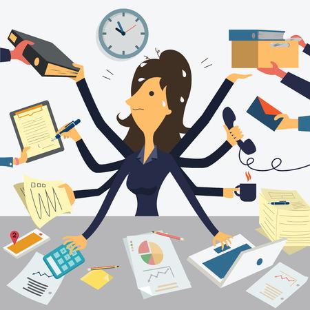 entrepreneur multitasking