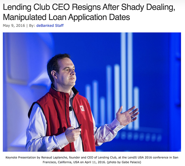 lending club ceo resigns
