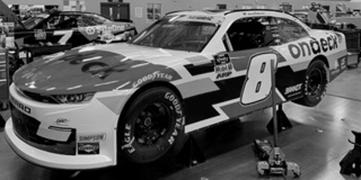 NASCAR - Black and White