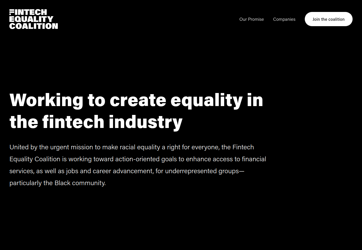 fintech equality
