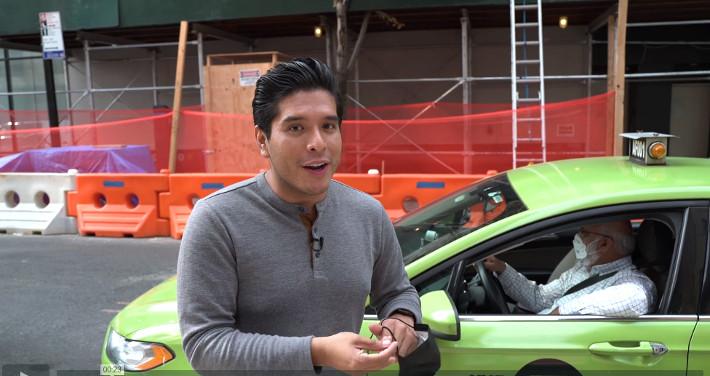 Johny Fernandez Green Cab