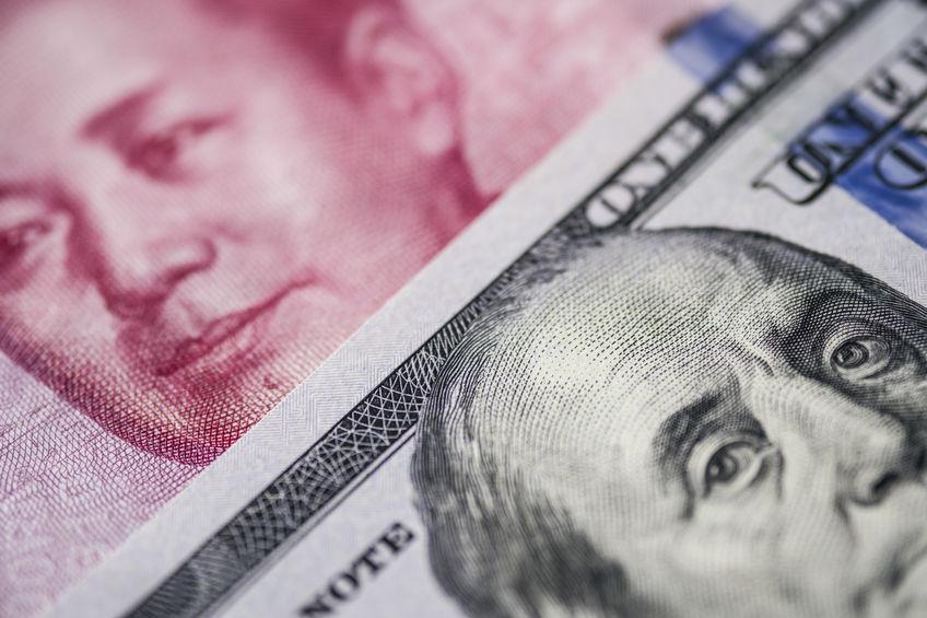 Yuan / dollar