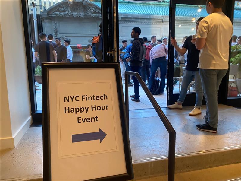fintech happy hour