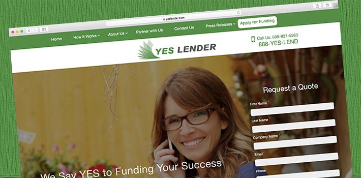 yes lender website
