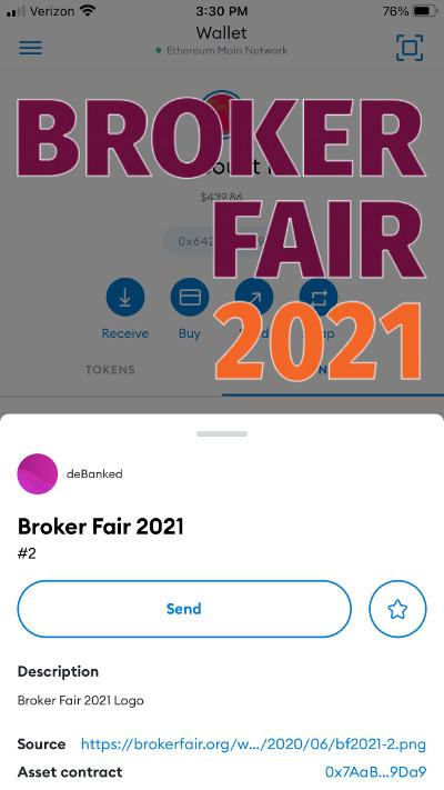 broker fair NFT
